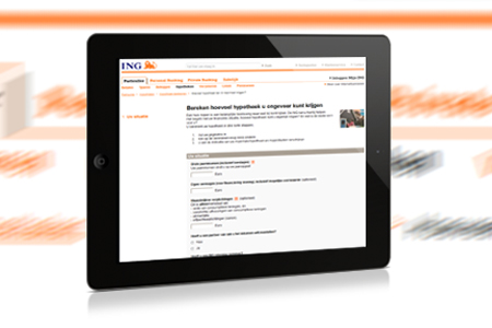 ING Forms implementatie <br />namens Backbase