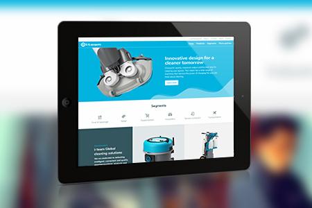 Website en partner portal <br /> namens Aviva Solutions