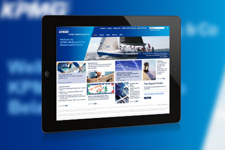 KPMG Meijburg & Co website <br />voor Macaw