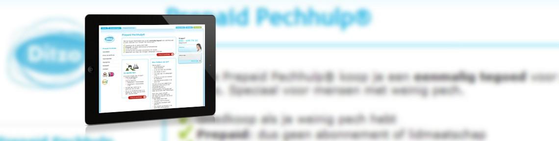 Introductie Predpaid Pechhulp<br>Voor: Ditzo verzekeringen